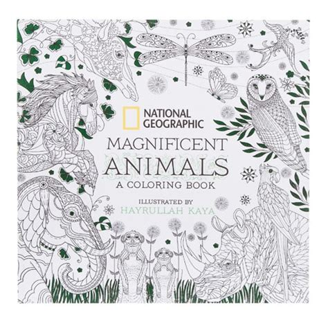 national geographic society magnificent animals adult
