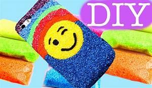 Emoji foam clay phone cover DIY Slime foam clay, My