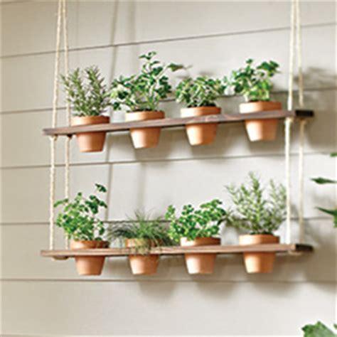 how to make a hanging herb garden garden club