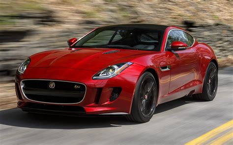 Jaguar F-type S Coupe (2015) Us Wallpapers And Hd Images