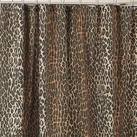 animal print curtains leopard shower curtain set decor ideasdecor ideas