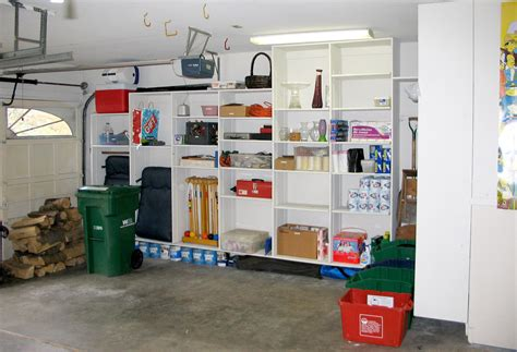 Garage Organizers : Small Spaces Garage Organization After Remodel With Wooden