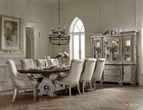 formal dining room sets orleans ii white wash traditional formal dining room furniture set d2168ww