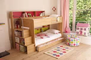 bunk up girls bedroom ideas furniture wallpaper accessories houseandgarden co uk