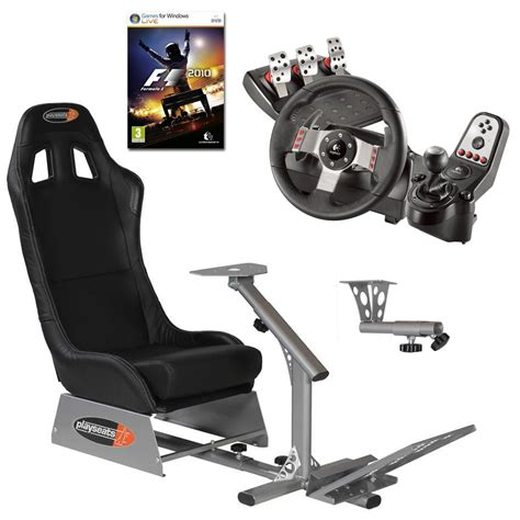 siege et volant ps3 playseats evo seat slider gearshift holder volant