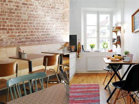 inspirasi dekorasi rumah ala kafe  hemat ruang