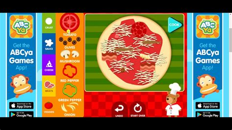 How To Make A Pizza Game 🌭| Abcya Fun Games For Kids