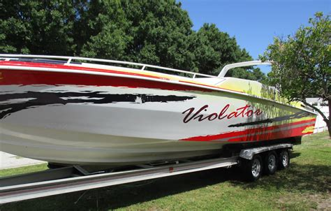 Boat Trailers For Sale Done Deal by 35 Rabco Offshore Boat For Sale From Usa