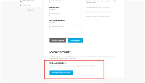 photo   enable  factor authentication fa
