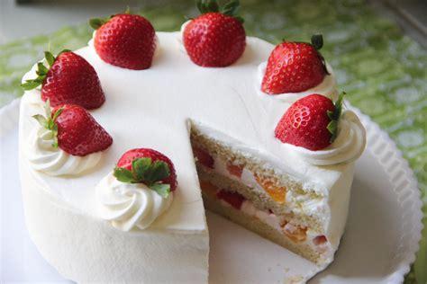 strawberry shortcake recipe japanese cooking  youtube
