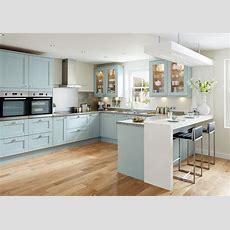 Tewkesbury Blue Shaker Style Kitchen  Youtube