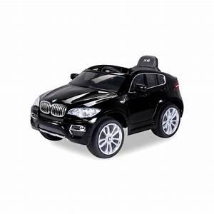 Voiture Bmw Enfant : voiture lectrique pour enfant bmw x6 luxe m tallis e noir si ge cuir ~ Medecine-chirurgie-esthetiques.com Avis de Voitures