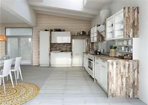 plan de cuisine bois ilot de cuisine bois et zinc fort de With ordinary meuble bas cuisine 120 cm 14 cuisine vendame