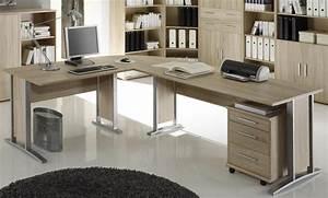 Eck Schreibtisch : winkelkombi schreibtisch sonoma eiche inkl rollcontainer ~ Eleganceandgraceweddings.com Haus und Dekorationen