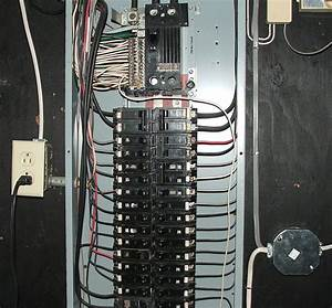 Wiring - How Much Extra Wire Should I Have In My Electrical Panel