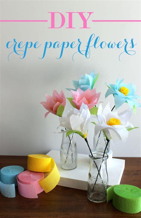 diy crepe paper flowers evite