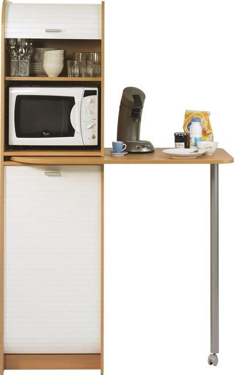 colonne de rangement cuisine 17 meilleures idées à propos de meuble micro onde sur