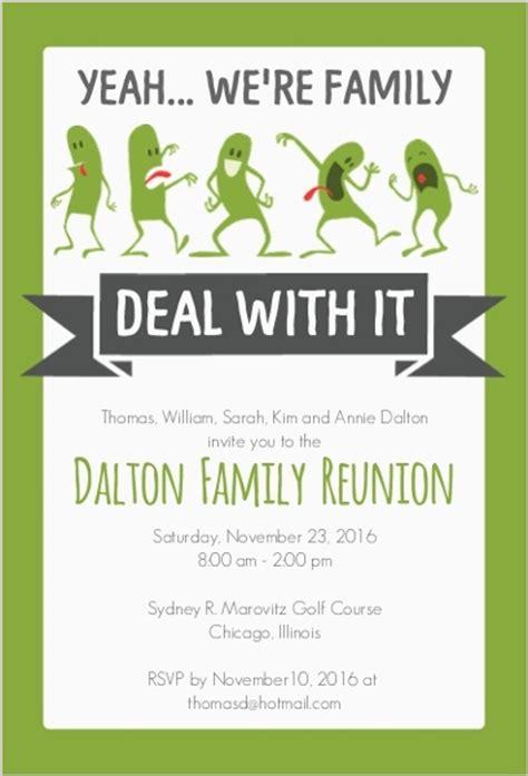 family reunion invitation templates family reunion invitation reunion invitations
