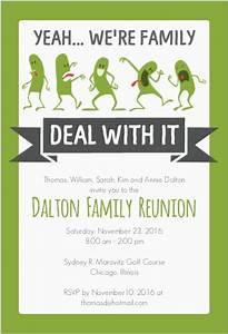 Funny Family Reunion Invitation … | Pinteres…