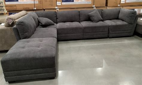 gray sectional sofa costco costco sectional sofa smileydot us