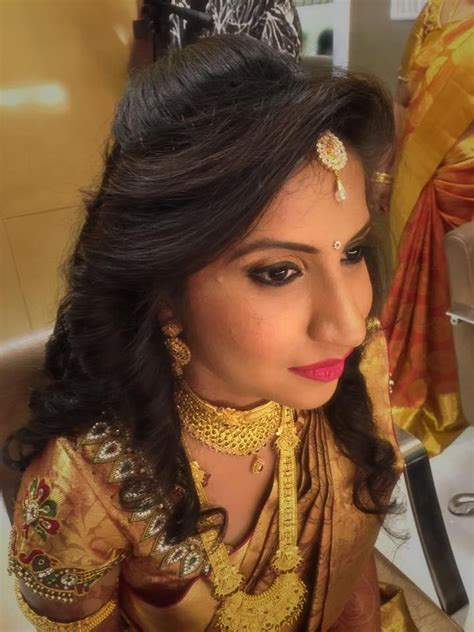 pin  swank studio  indian bridal hairstyles