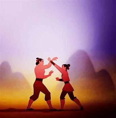 Mulan Disney Princess Ping Kick Training Crescent