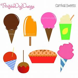 Carnival Food Sign Clipart