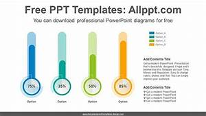 Thermometer Chart Powerpoint Diagram For Free