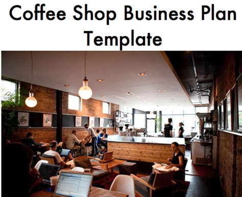 This beautifully designed power point presentation peppered with visuals and infographics has been designed as an investor presentation. Coffee Shop Business Plan Template - Black Box Business Plans