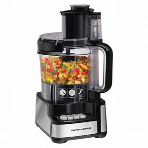 Hamilton Beach Stack And Snap 12 Cup Food Processor