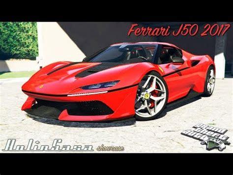ferrari j50 rear ferrari j50 2017 add on for gta 5