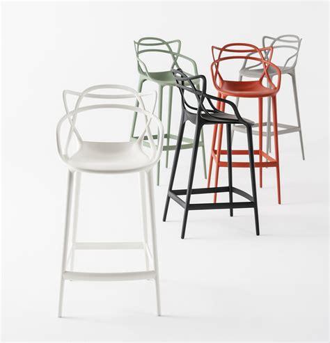 hauteur standard table de cuisine chaise de bar masters h 65 cm polypropylène vert sauge