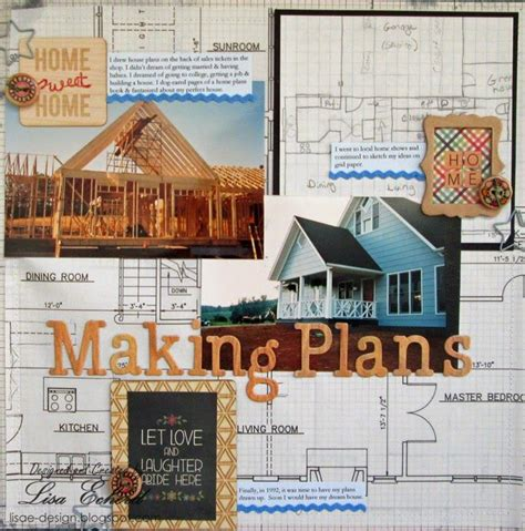 New Home Layouts by 46 Best Scrapbook House Moving Images On