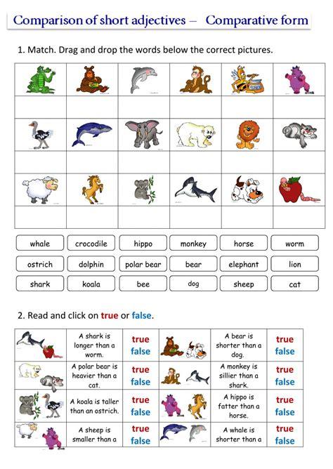 worksheet comparatives and superlatives worksheets grass