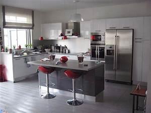 Idee Deco Cuisine Ouverte : id e deco cuisine ouverte ~ Preciouscoupons.com Idées de Décoration