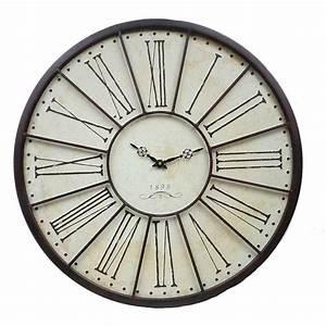 Grande Horloge Industrielle : grande horloge murale l 39 ancienne de gare horloge pinterest interieur et d coration ~ Teatrodelosmanantiales.com Idées de Décoration