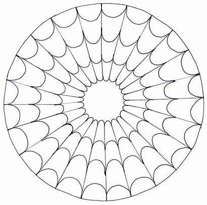 Mandala Coloring Pages Easy Adults Books