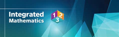 HMH Integrated Mathematics 1, 2, 3 for Grades 9-12