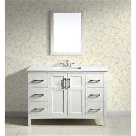 simpli home winston   white vanity  white