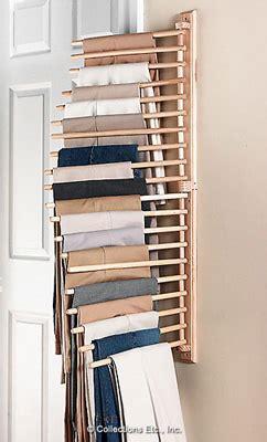 Wall Mount Trouser Pant Closet Organization Rack From