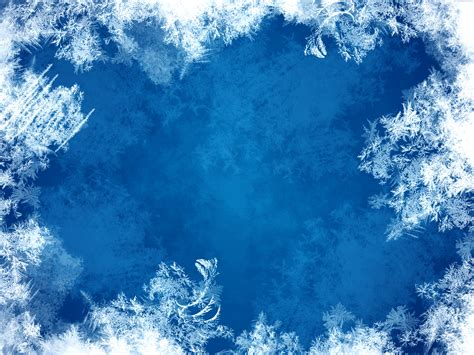 blue frost background psdgraphics
