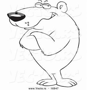 Cartoon Bear Standing