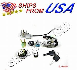5 Wire Key Ignition Switch Set Scooter Moped 49 50 Cc 110