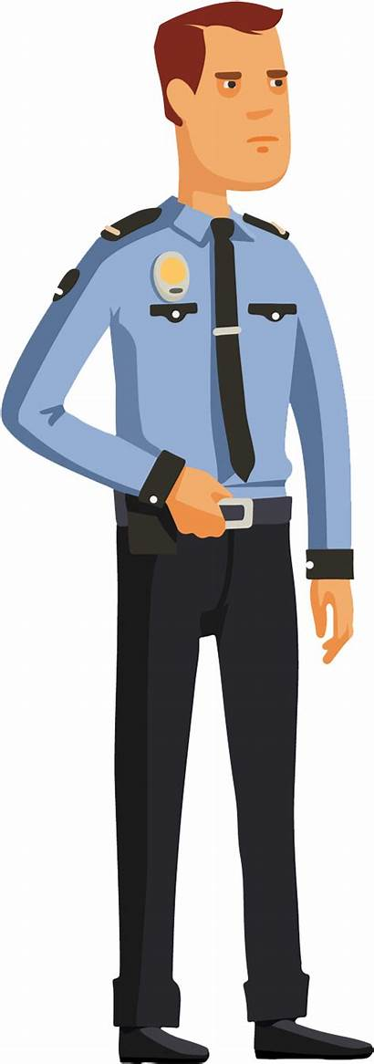 Guard Security Cartoon Facility Karni Management Shri