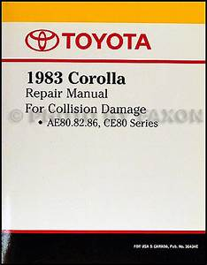 Toyota Corolla Rwd Wiring Diagram Manual Original