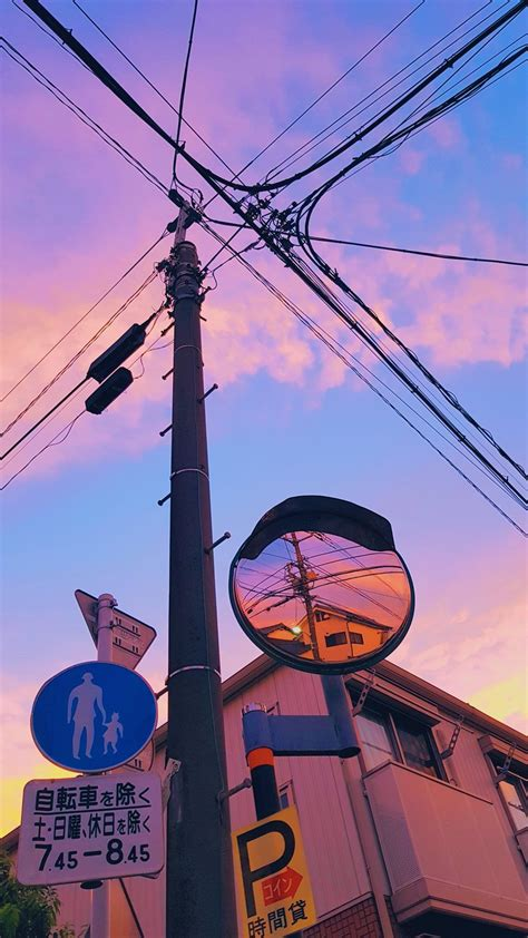 japan colorful aesthetic pastel wallpaper