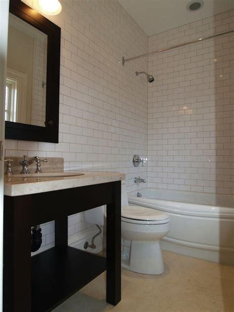 Designer Bathroom Tile by Subway Tile Shower Design Contemporary Bathroom