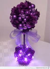 stunning purple christmas decor ideas for a royal celebration