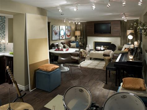 Cozy, Neutral Basement Makeover  Hgtv. Two Piece Living Room Set. Modern Traditional Living Room Ideas. Mexican Living Room Decor. Modern Living Room Furniture Designs. Decor Images Living Room. Modern Lights For Living Room. Living Room Decor Black Leather Sofa. Shaggy Rugs For Living Room
