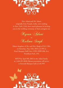 Wedding invitations exotic indian inspired wedding for Online indian e wedding invitations